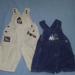 Baby Disney overalls- Mickey and 101 dalmatians